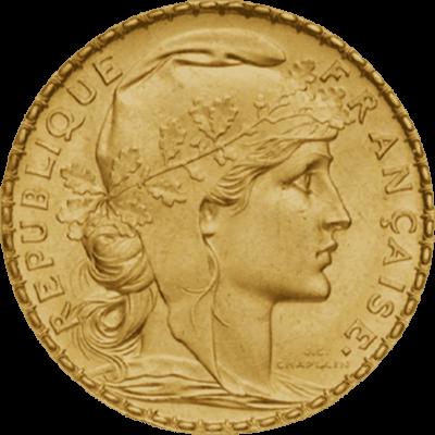 20 Francs Coq Marianne